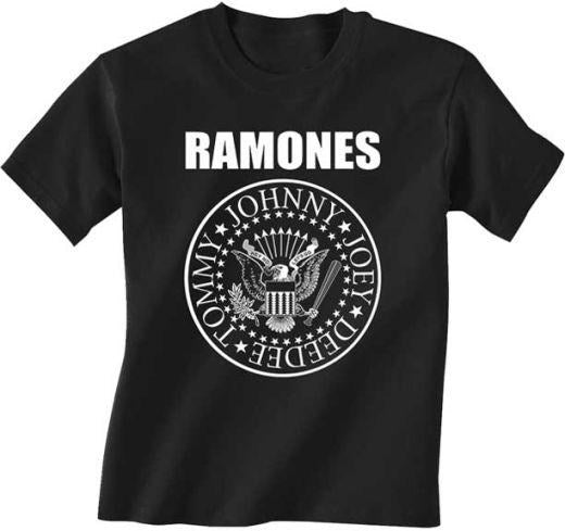 Ramones - Presidential Seal Logo Toddler and Youth Black Shirt