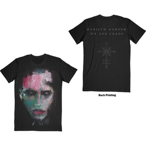 Manson, Marilyn - We Are Chaos Black Shirt