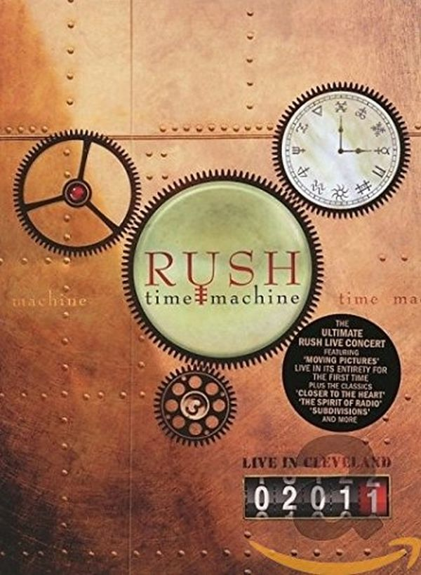 Rush - Time Machine 2011 - Live In Cleveland (R0) - DVD - Music