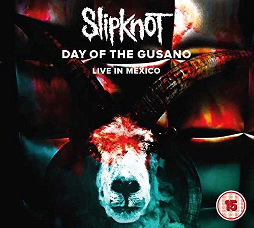 Slipknot - Day Of The Gusano - Live In Mexico (CD/DVD) (R0) (Euro.) - CD - New