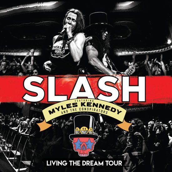 Slash feat. Myles Kennedy And The Conspirators - Living The Dream Tour (2CD/DVD) (R0) - CD - New