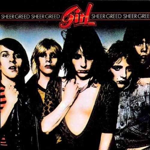 Girl - Sheer Greed (Rock Candy rem. w. 2 bonus tracks) - CD - New