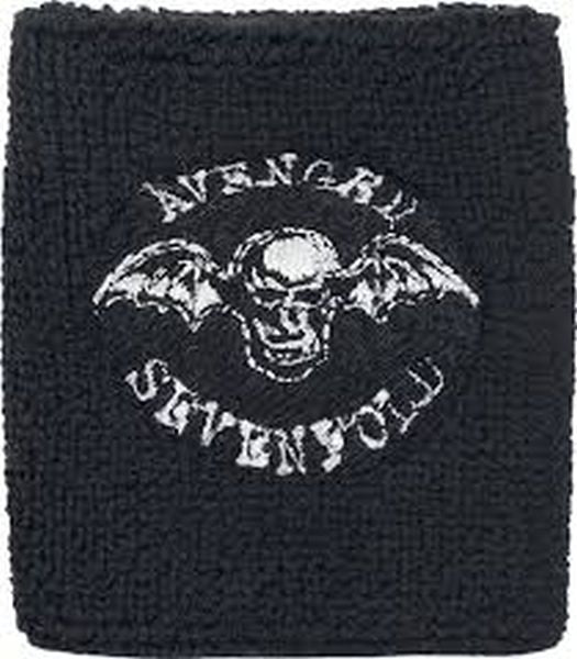 Avenged Sevenfold - Sweat Towelling Embroided Wristband (Deathbat)