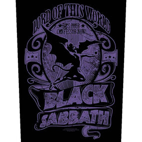 Black Sabbath - Lord Of This World - Sew-On Back Patch