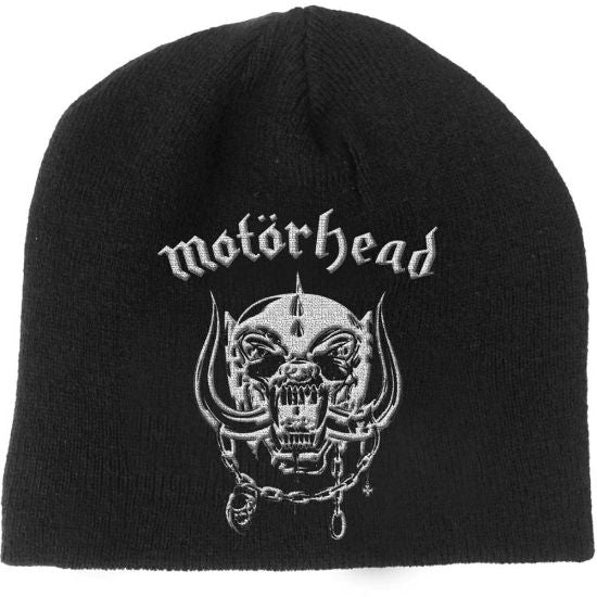 Motorhead - Knit Beanie - Embroidered - Warpig