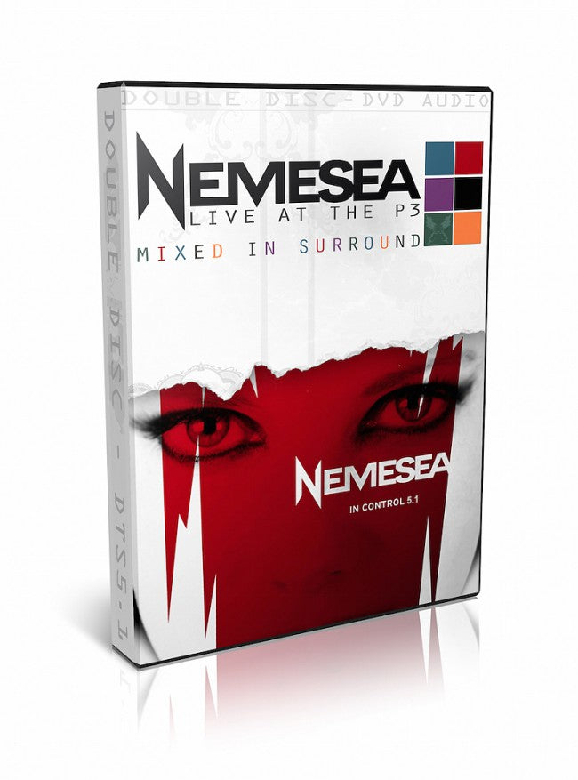 Nemesea - Live At The P3 - In Control 5.1 - (2DVD - DVD AUDIO ONLY!) - DVD - Music