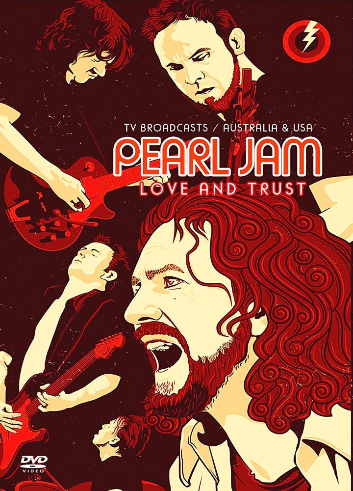 Pearl Jam - Love And Trust (TV Broadcasts/Australia And USA) (R0) - DVD - Music