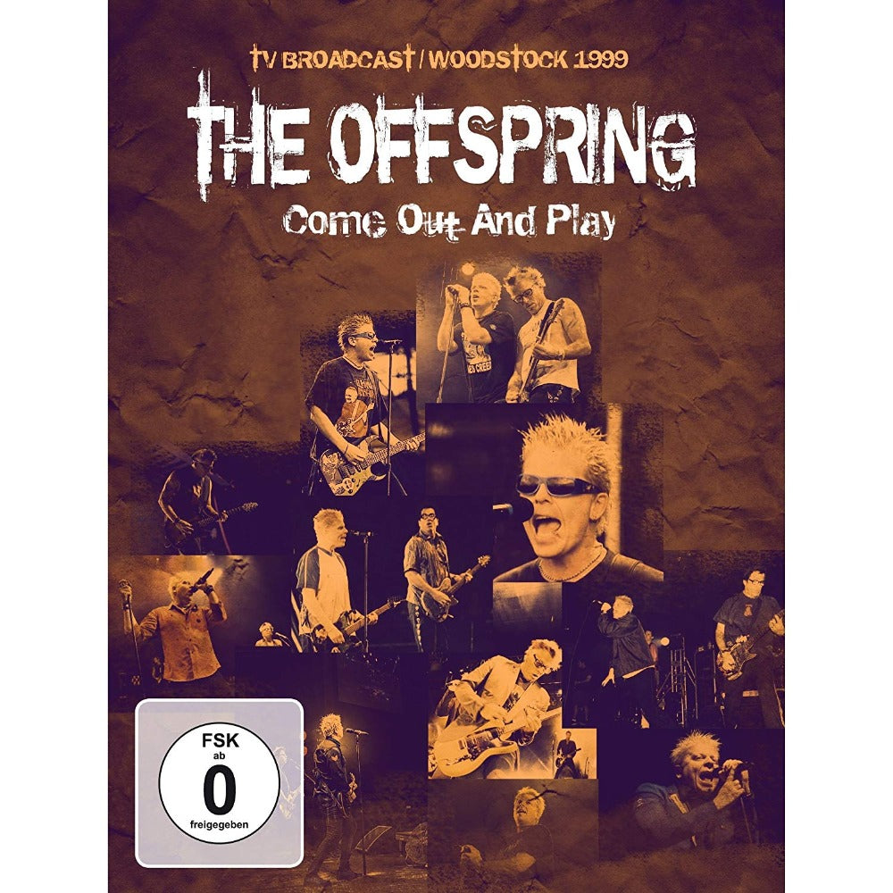 Offspring - Come Out And Play - TV Broadcast Woodstock 1999 (R0) - DVD - Music