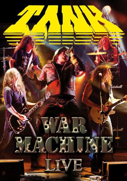 Tank - War Machine - Live (R0) - DVD - Music
