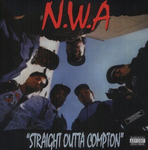 N.W.A. - Straight Outta Compton (Back To Black 180g w. download voucher) - Vinyl - New