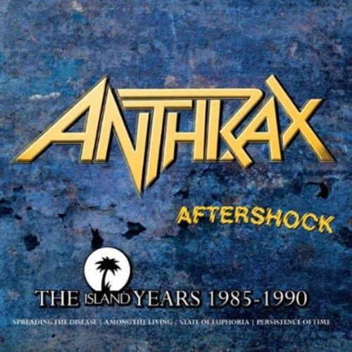 Anthrax - Aftershock - The Island Years 1985-1990 (Spreading The Disease/Among The Living/State Of Euphoria/Persistence Of Time + bonus tracks) (4CD) - CD - New