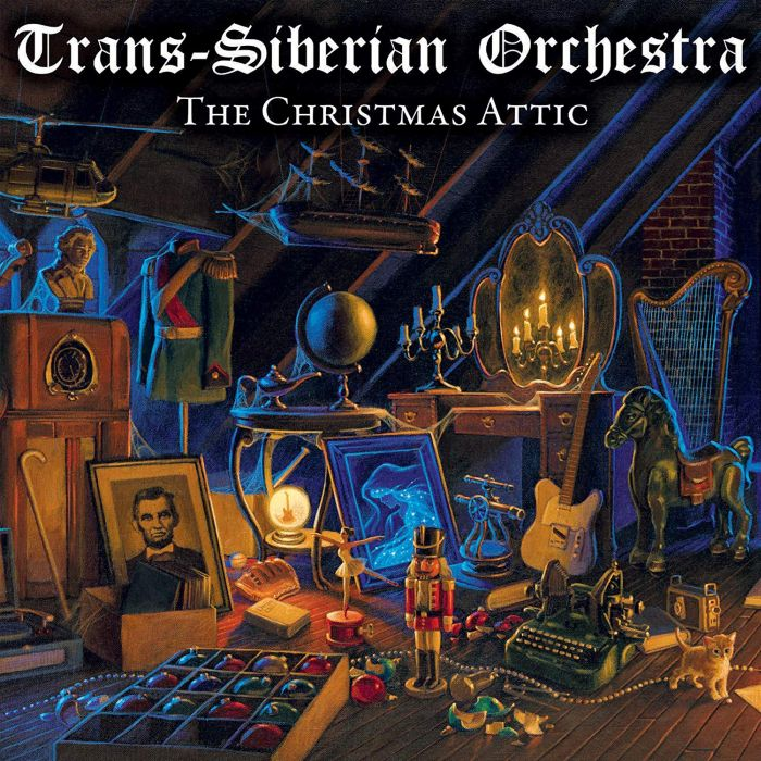 Trans-Siberian Orchestra - Christmas Attic, The (2018 reissue) - CD - New