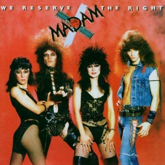 Madam X - We Reserve The Right (2013 reissue) - CD - New