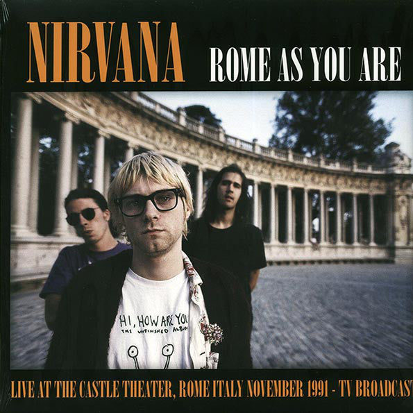 Nirvana - Rome As You Are - Vinyl - New