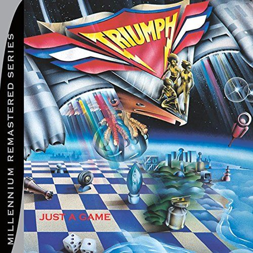 Triumph - Just A Game - CD - New