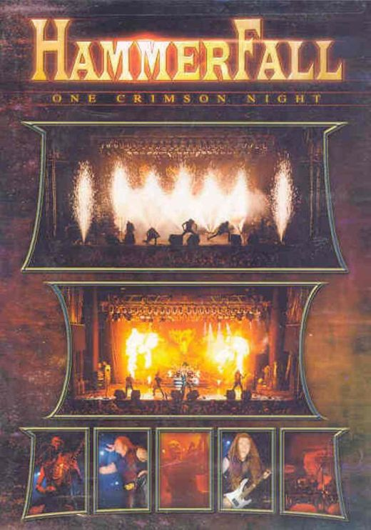 Hammerfall - One Crimson Night (R0) - DVD - Music