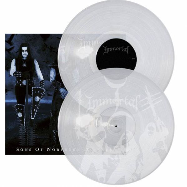 Immortal - Sons Of Northern Darkness (Ltd. Ed. 2LP Clear Vinyl - gatefold) - Vinyl - New
