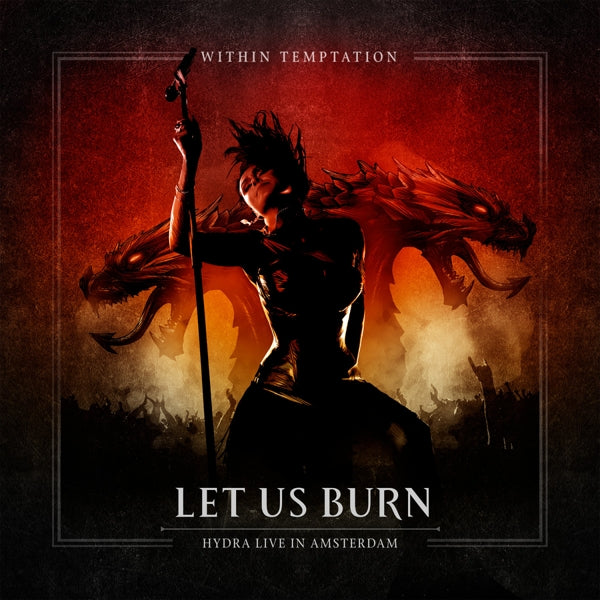 Within Temptation - Let Us Burn - Elements And Hydra Live In Concert (2CD/Blu-Ray) (R0) - CD - New