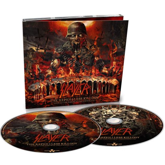 Slayer - Repentless Killogy, The (Live At The Forum In Inglewood, CA) (2CD) - CD - New