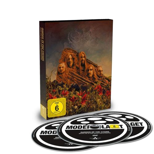 Opeth - Garden Of The Titans - Opeth Live At Red Rocks Amphitheatre (DVD/2CD) (R0) - DVD - Music