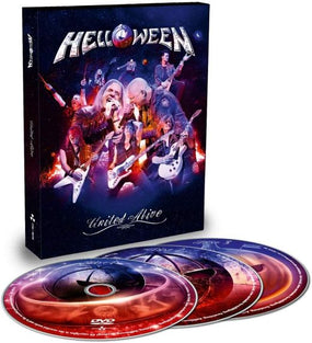 Helloween - United Alive (Ltd. Ed. 3DVD) (R0) - DVD - Music