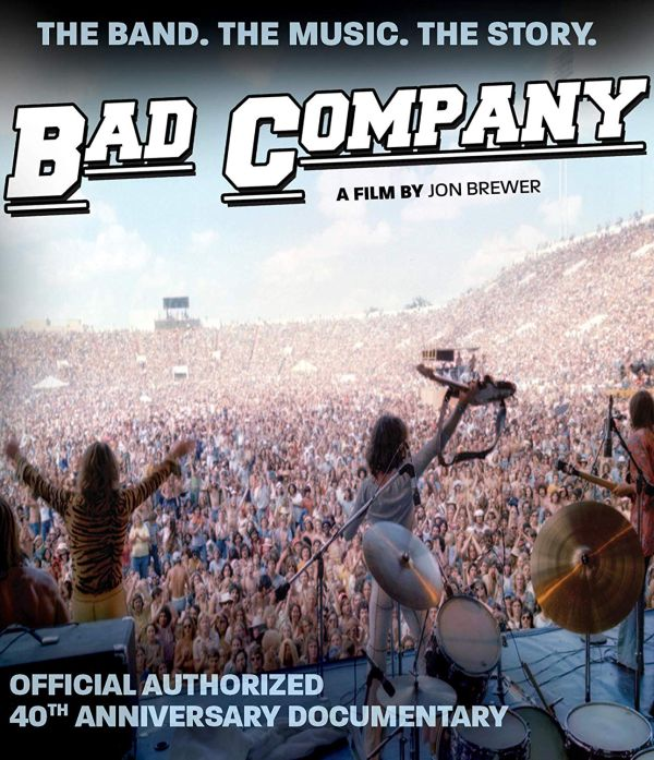 Bad Company - Band. The Music. The Story., The - Official 40th Ann. Documentary (2020 reissue) (RA/B/C) - Blu-Ray - Music