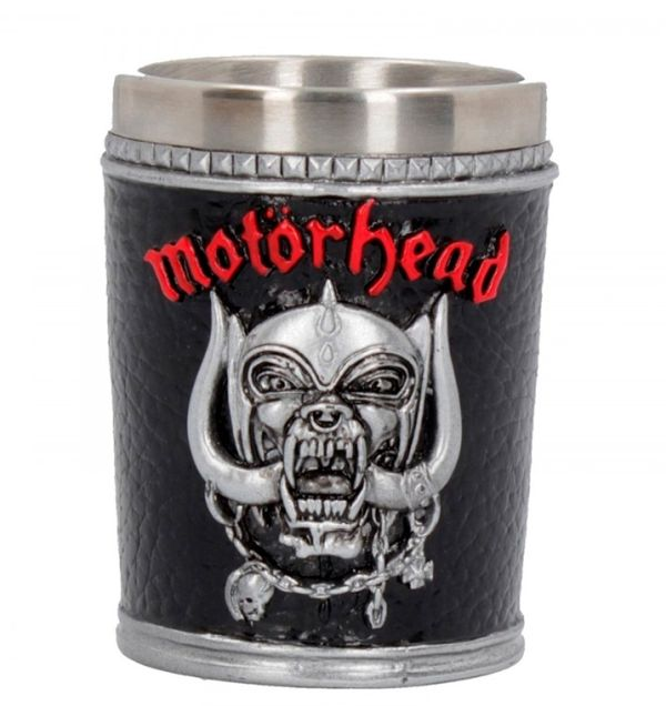 Motorhead - Shot Glass (War Pig/Ace Of Shades - high quality resin cast w. removable stainless steel insert)