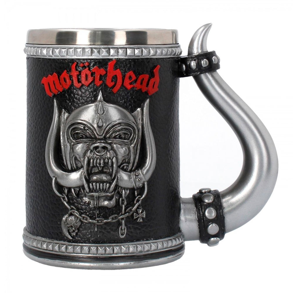 Motorhead - Tankard Warpig - Pint (560ml) 14.5cm high quality resin cast w. removable stainless steel insert