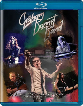 Bonnet, Graham - Live... Here Comes The Night (RA/B/C) (U.S.) - Blu-Ray - Music