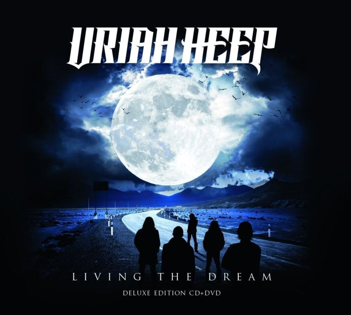 Uriah Heep - Living The Dream (Deluxe Ed. CD/DVD) (R0) - CD - New