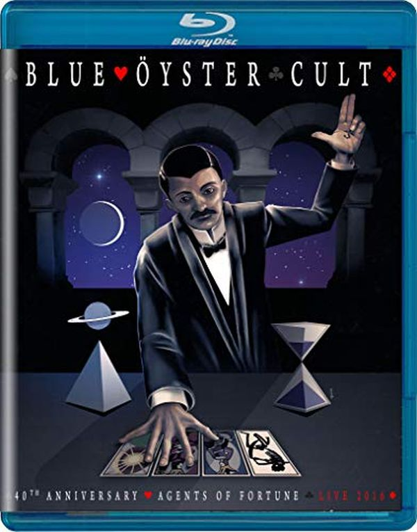 Blue Oyster Cult - 40th Anniversary - Agents Of Fortune - Live 2016 (RA/B/C) - Blu-Ray - Music