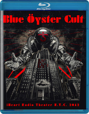 Blue Oyster Cult - iHeart Radio Theater N.Y.C. 2012 (RA/B/C) - Blu-Ray - Music