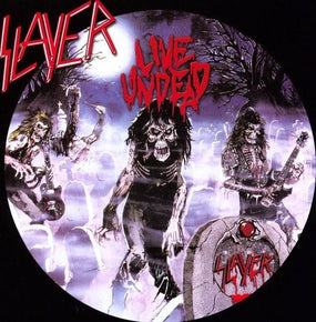 Slayer - Liveundead/Haunting The Chapel (180g ltd. ed. coloured vinyl - gatefold) - Vinyl - New