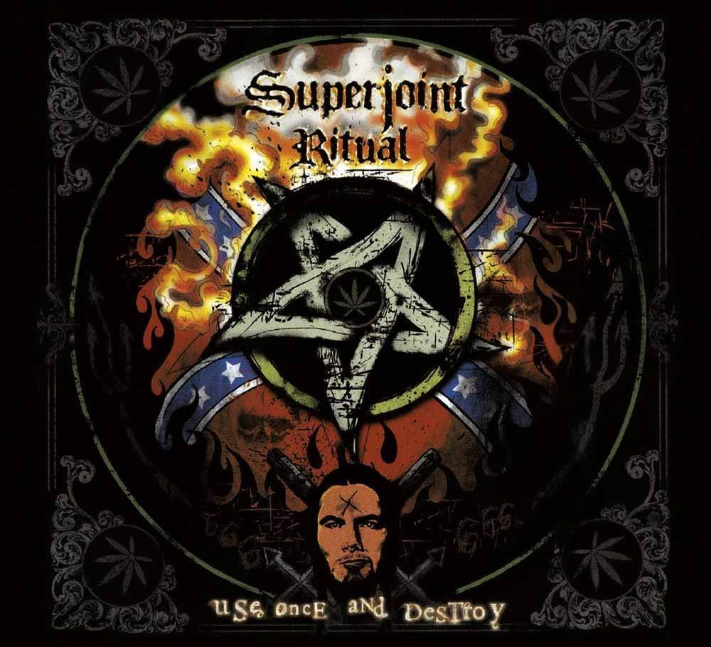 Superjoint Ritual - Use Once And Destroy (2016 reissue) - CD - New