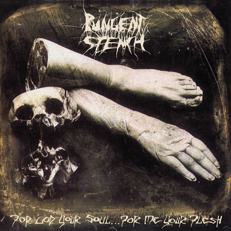 Pungent Stench - For God Your Soul...For Me Your Flesh (2018 2CD reissue w. 20 bonus live tracks) - CD - New