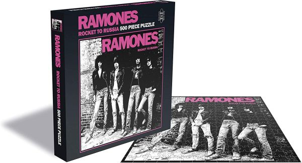 Ramones - 500 Piece Jigsaw Puzzle (Rocket To Russia)