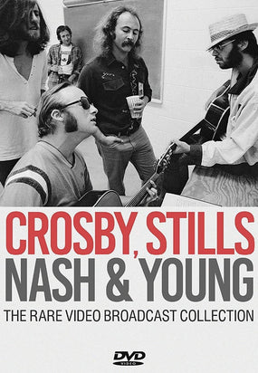 Crosby, Stills, Nash And Young - Rare Video Broadcast Collection, The (R0) - DVD - Music