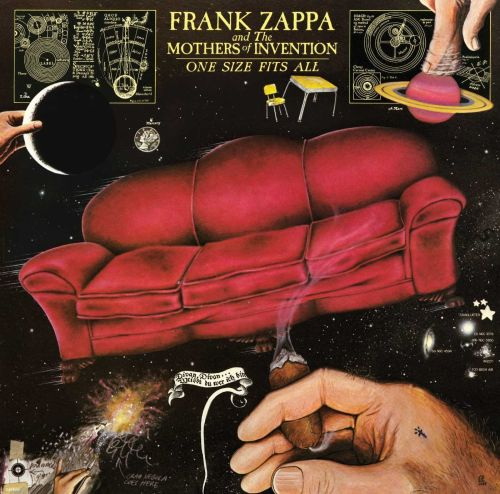Zappa, Frank - One Size Fits All - CD - New