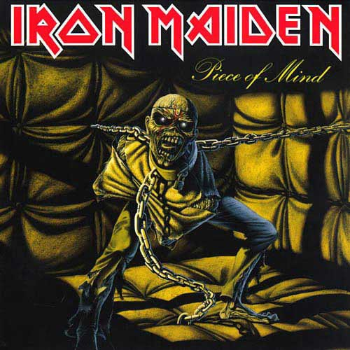 Iron Maiden - Piece Of Mind (180g 2014 reissue - gatefold) (Euro.) - Vinyl - New