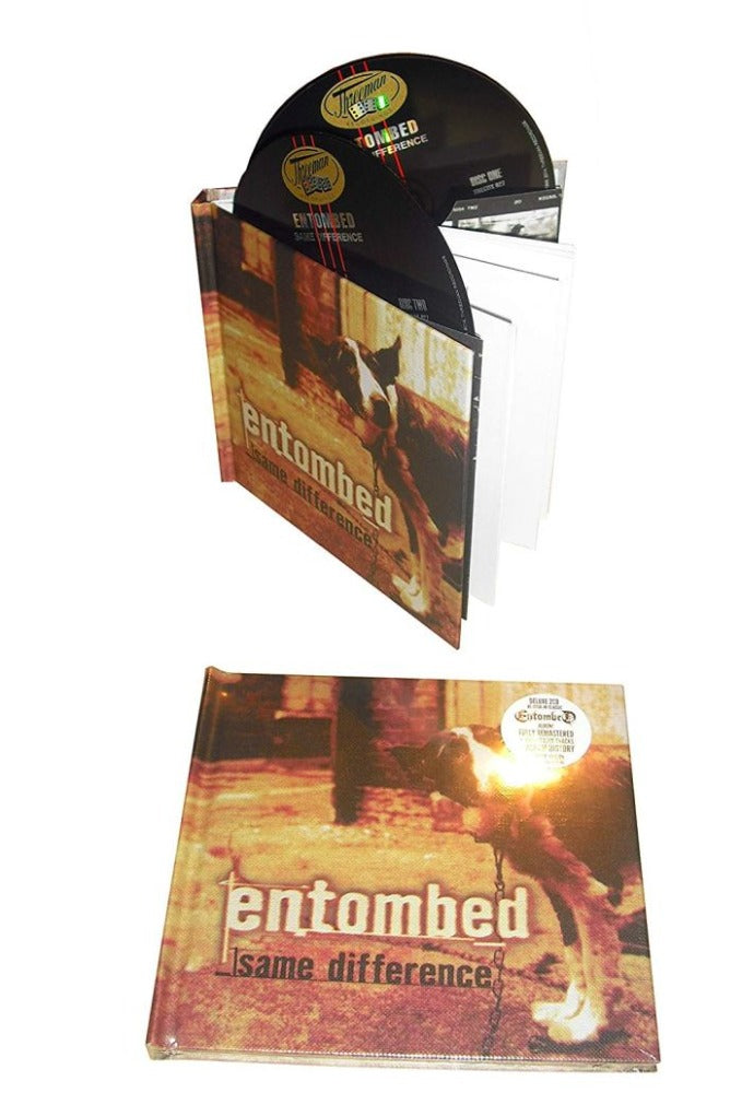 Entombed - Same Difference (Ltd. Ed. Deluxe 2CD reissue) - CD - New