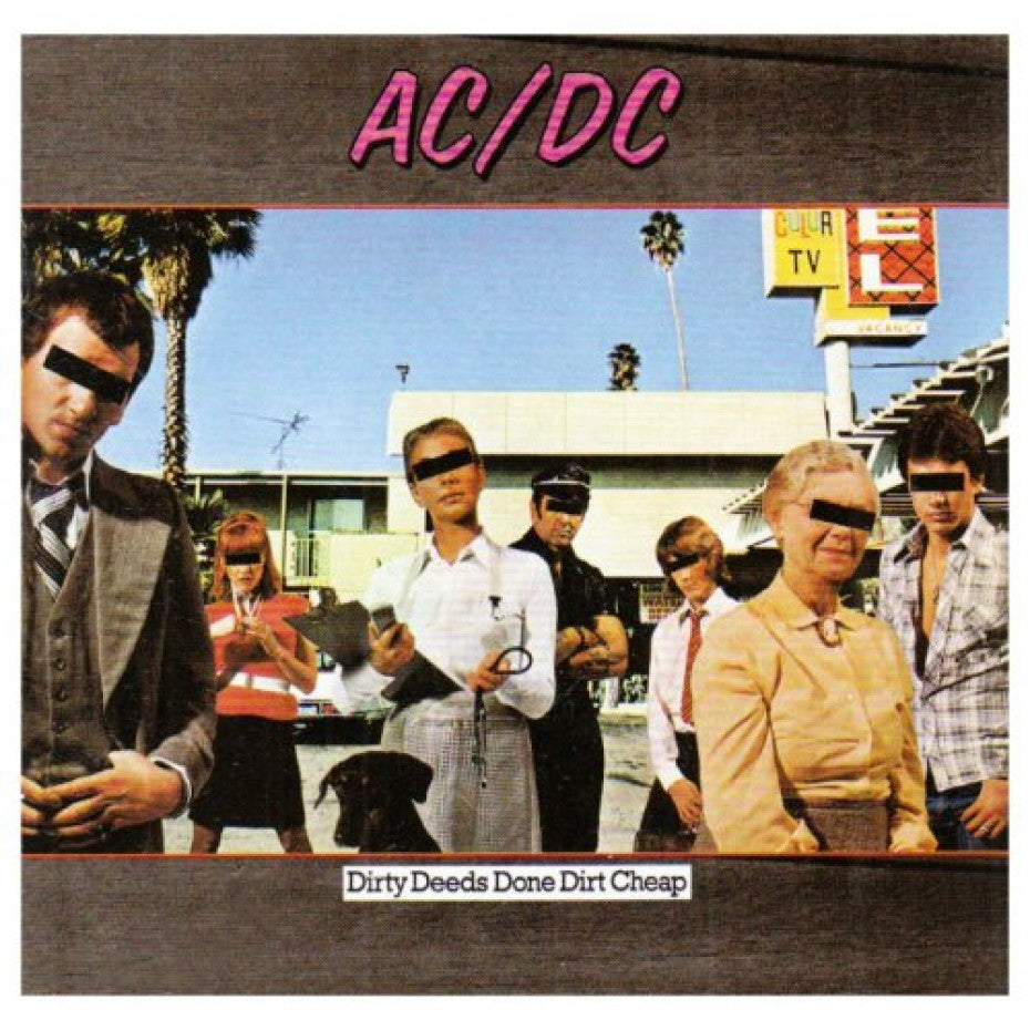 ACDC - Dirty Deeds Done Dirt Cheap (International Track Listing) - CD - New