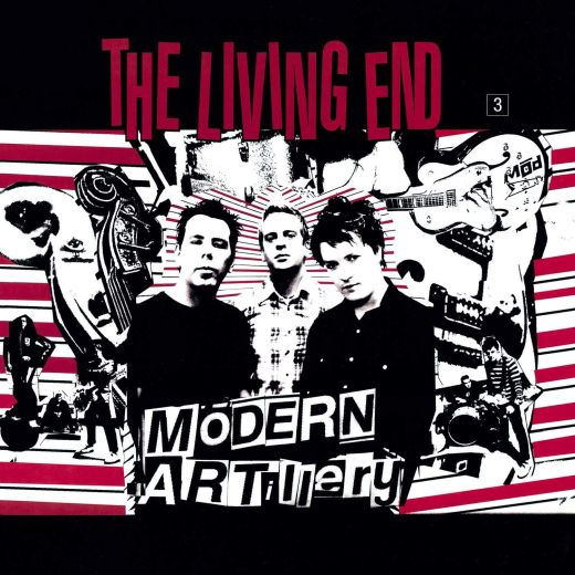 Living End - Modern Artillery (Ltd. Ed. 180g Red Vinyl 2020 reissue - numbered ed. of 1000) - Vinyl - New