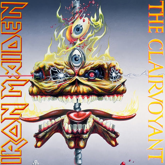 Iron Maiden - Clairvoyant, The (7 Inch - Ltd. Ed. 2014 reissue) (U.S.) - Vinyl - New