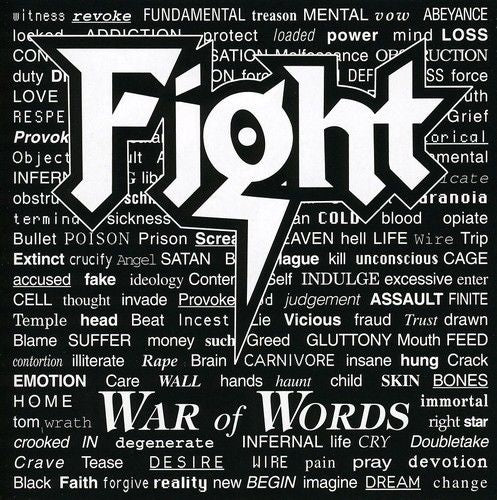 Fight - War Of Words - CD - New