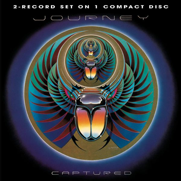 Journey - Captured - CD - New