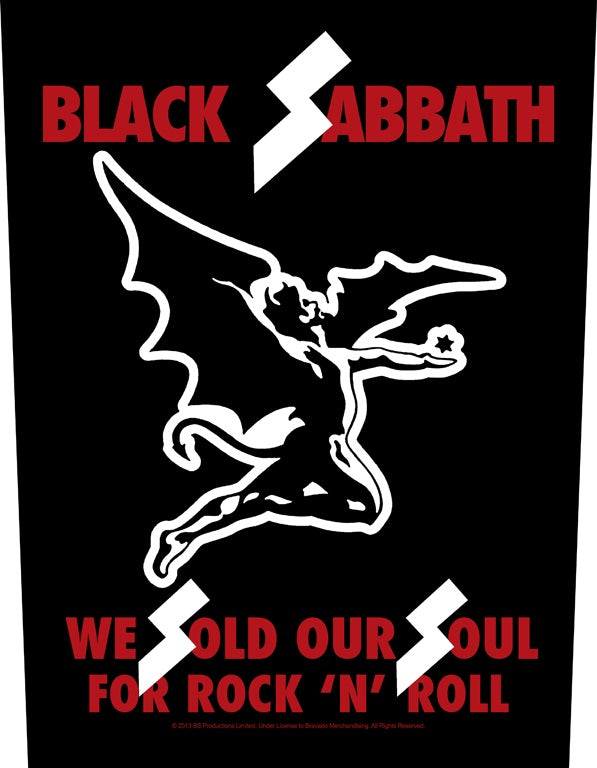 Black Sabbath - We Sold Our Souls - Sew-On Back Patch