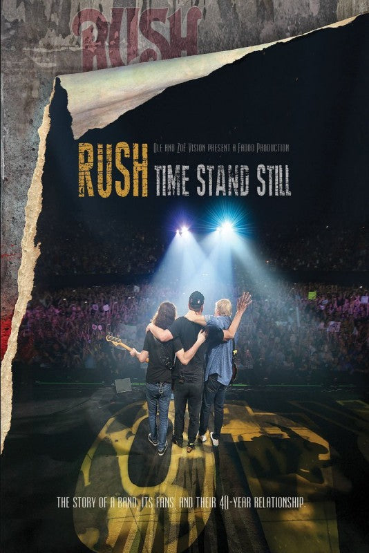 Rush - Time Stand Still (R0) - DVD - Music
