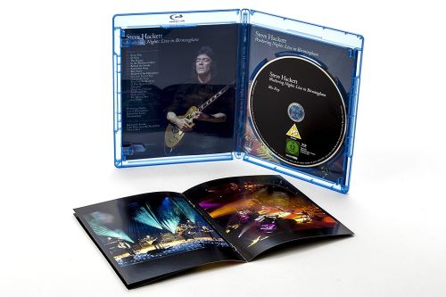 Hackett, Steve - Wuthering Nights - Live In Birmingham (RA/B/C) - Blu-Ray - Music