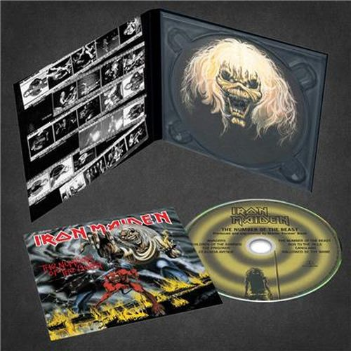 Iron Maiden - Number Of The Beast, The (The Studio Collection – Remastered Digipak) - CD - New
