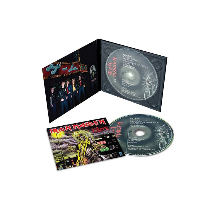 Iron Maiden - Killers (The Studio Collection – Remastered) - CD - New